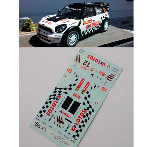 Mini WRC Monte´13