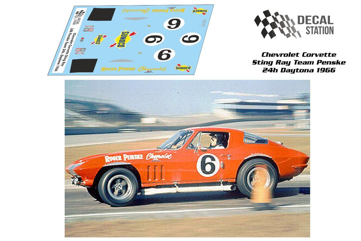 Corvette Sting Ray 24h Daytona 66