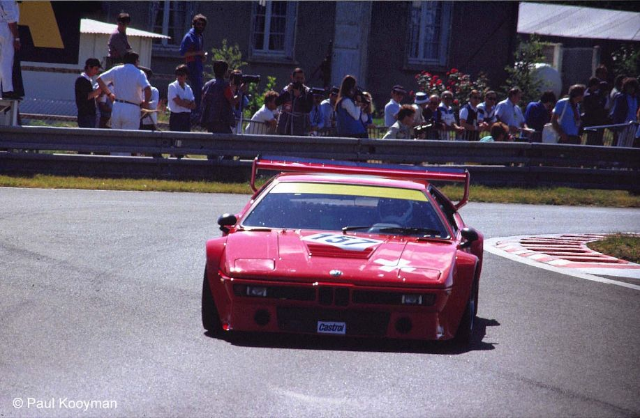 BMW M1 24 horas Lemans 1985