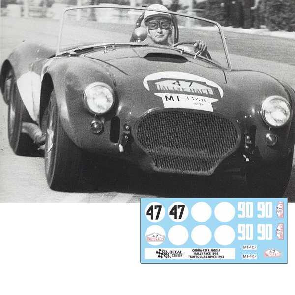 Cobra 427 F. Godia RACE 1965