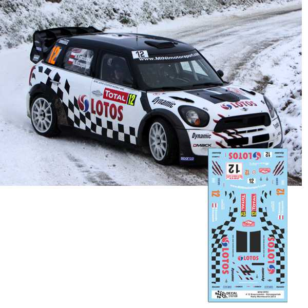 Mini WRC Rally Montecarlo 2013