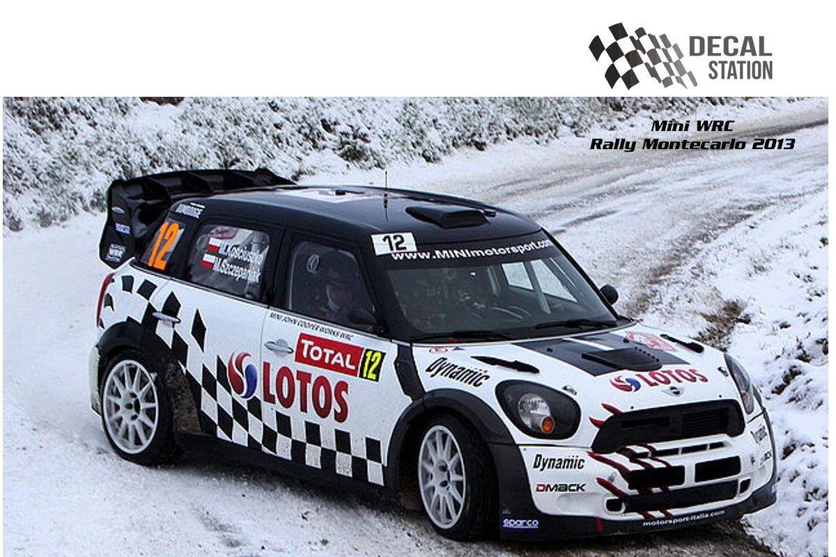 Mini WRC Rally Montecarlo 2013
