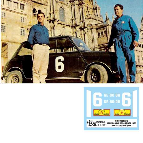 MINI COOPER REVERTER 1965