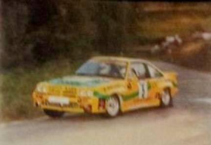Opel Manta 400 Rias Bajas 1988
