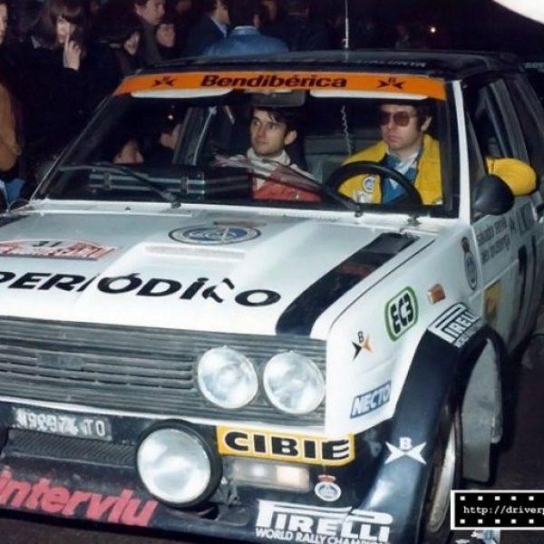 Fiat 131 Abarth 1979 Montecarlo Servia