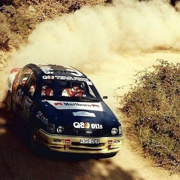 Ford Sierra Cosworth 4×4 1991 Cataluña Bardolet OF-MARLBORO 01