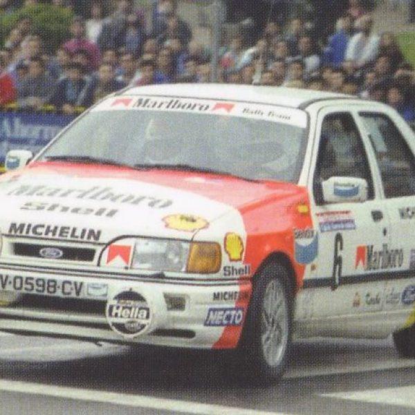 Ford Sierra Cosworth 4×4 Gr N 1989 Ppe de Asturias Bardolet MARLBORO