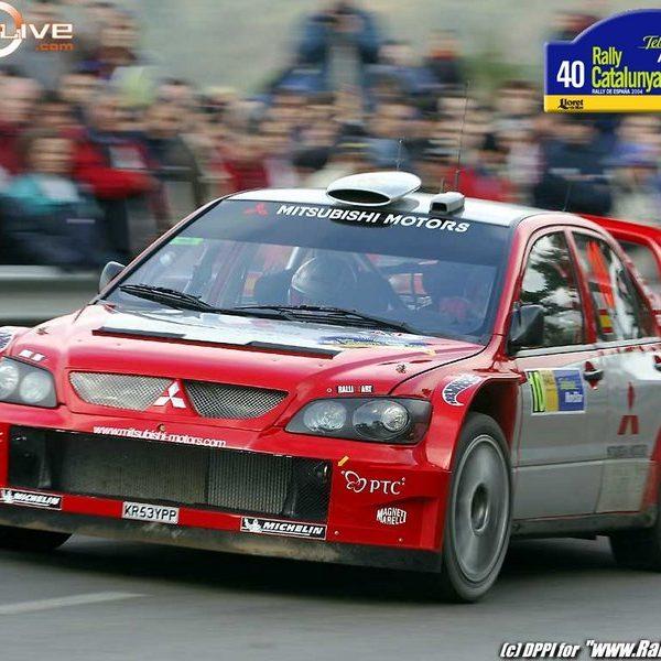 Mitsubishi Lancer WRC — Cataluña SOLA 01
