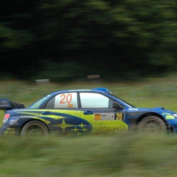 Subaru Imprezza WRC 2007 Alemania X Pons