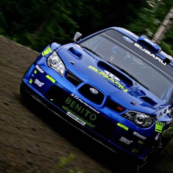 Subaru Imprezza WRC 2007 Finlandia X Pons