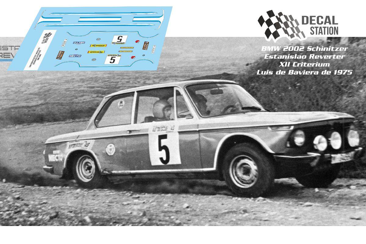 BMW 2002 Reverter Luis de Baviera 1975
