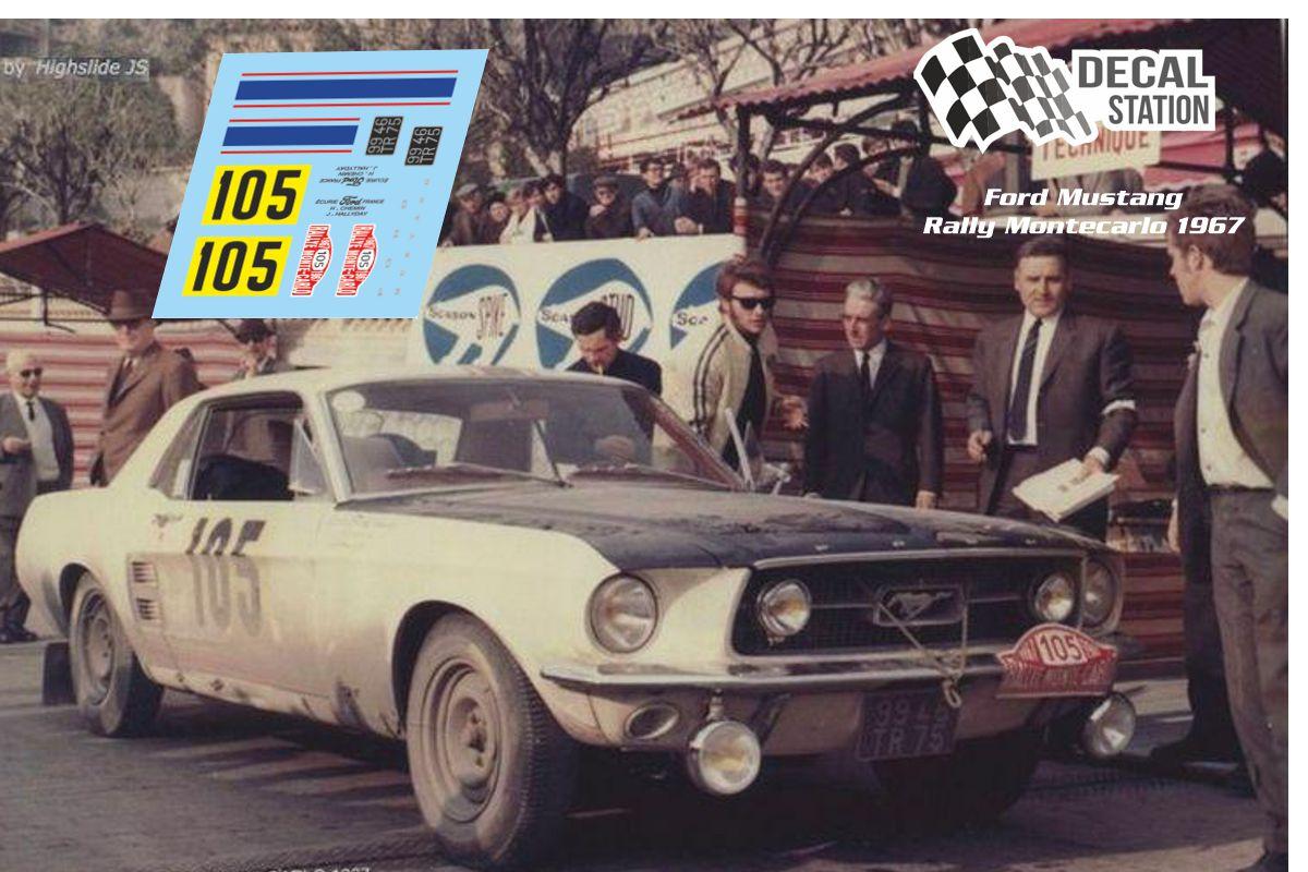 Ford Mustang Rally Montecarlo 1967