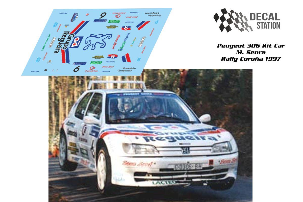 Peugeot 306 Senra Rally La Coruña 1997