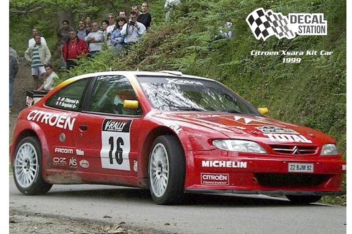 Citroen Xsara Kit Car oficial 1999