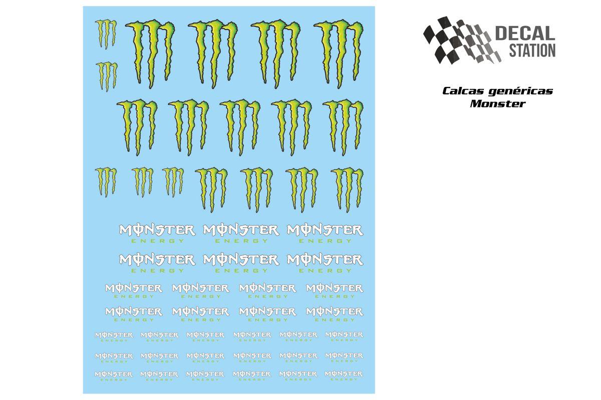 Calcas genéricas logos Mnster