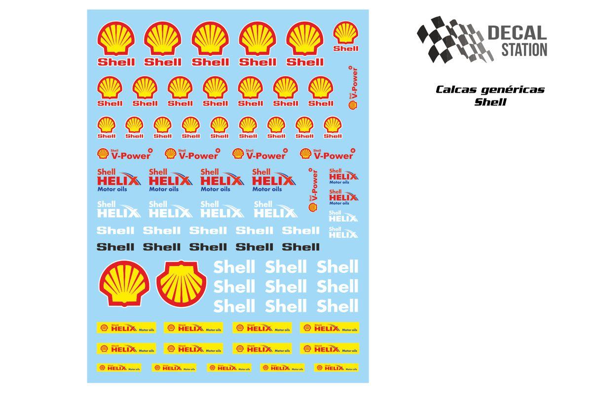 Calcas genéricas logos Shell