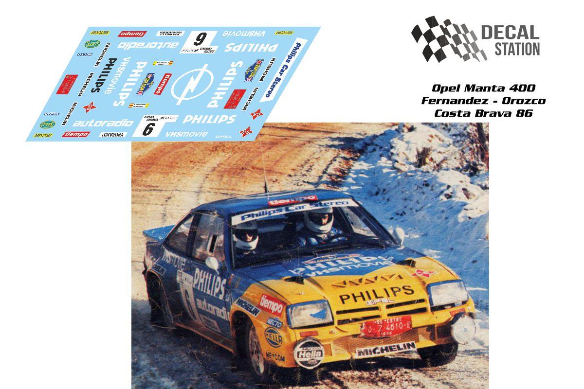 Opel Manta 400 Costa Brava 1986