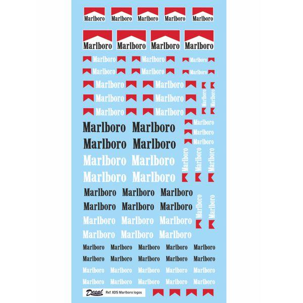 Calcas logos Malboro varios tamaños