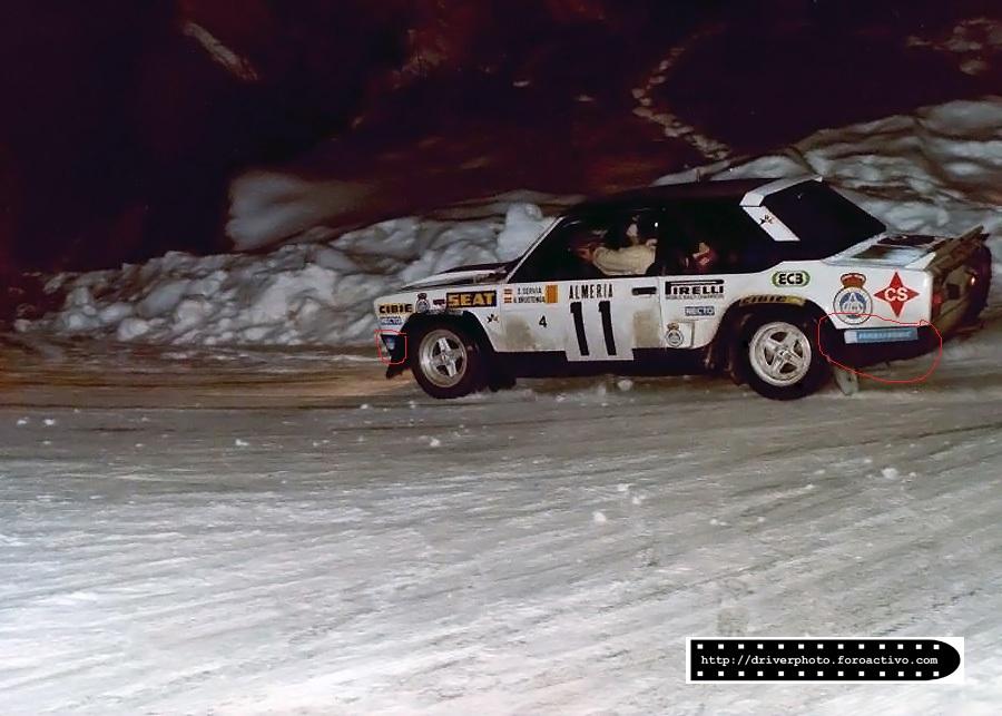 Seat 131 Rally Montecarlo 1978