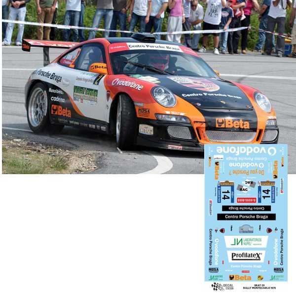 Porsche 911 GT3 Rally Ferrol 2009