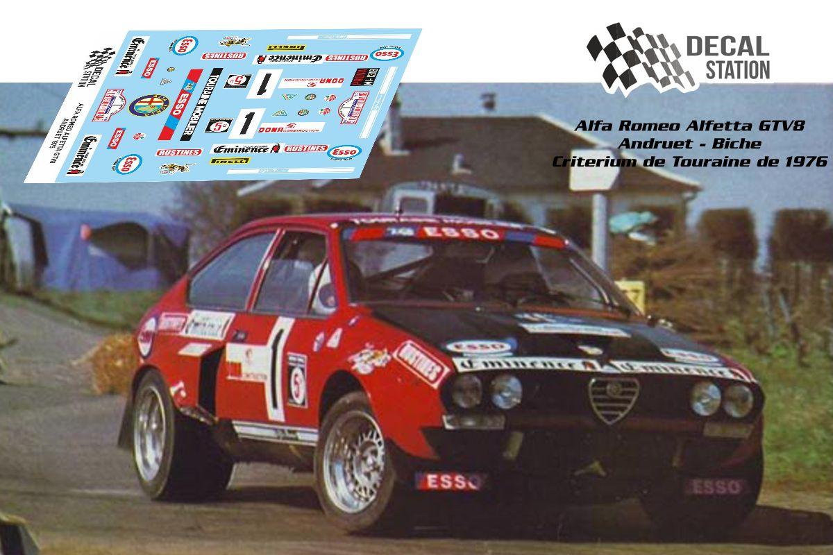 Alfa Romeo Alfetta GTV8 Andruet 1976