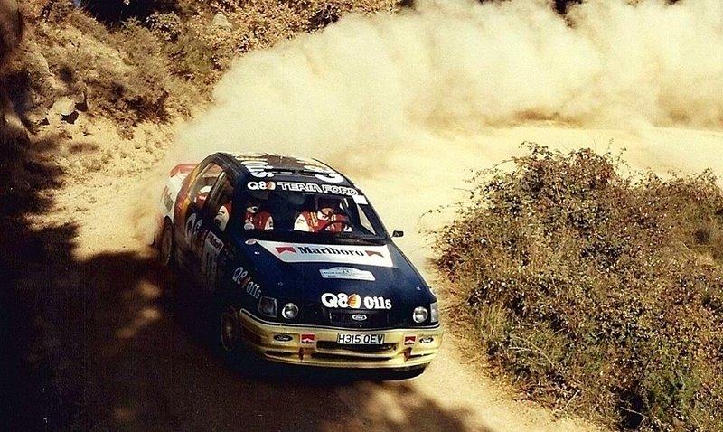Ford Sierra Bardolet Rally Cataluña 1991