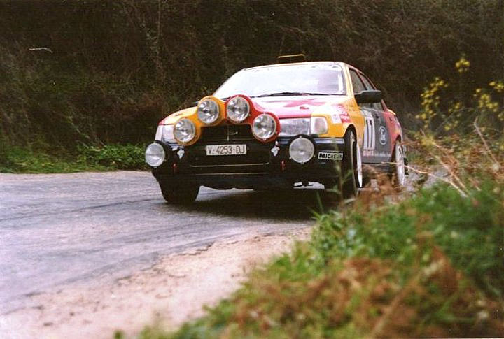 Ford Sierra Bardolet Rally Portugal 1992