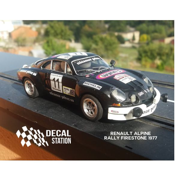 Renault Alpine Rally Firestone 1977