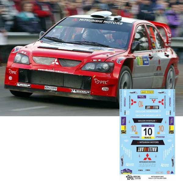 Mitsubishi WRC Rally Cataluña 2004