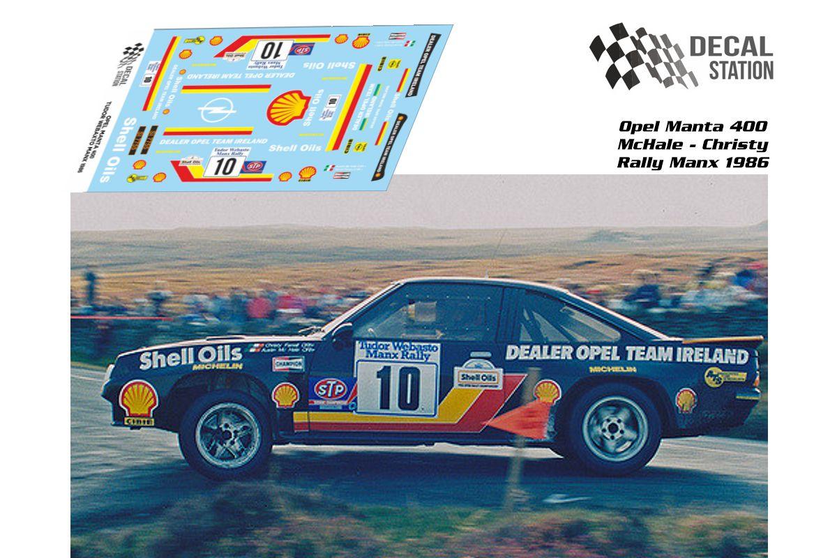 Opel Manta Rally McHale 1986