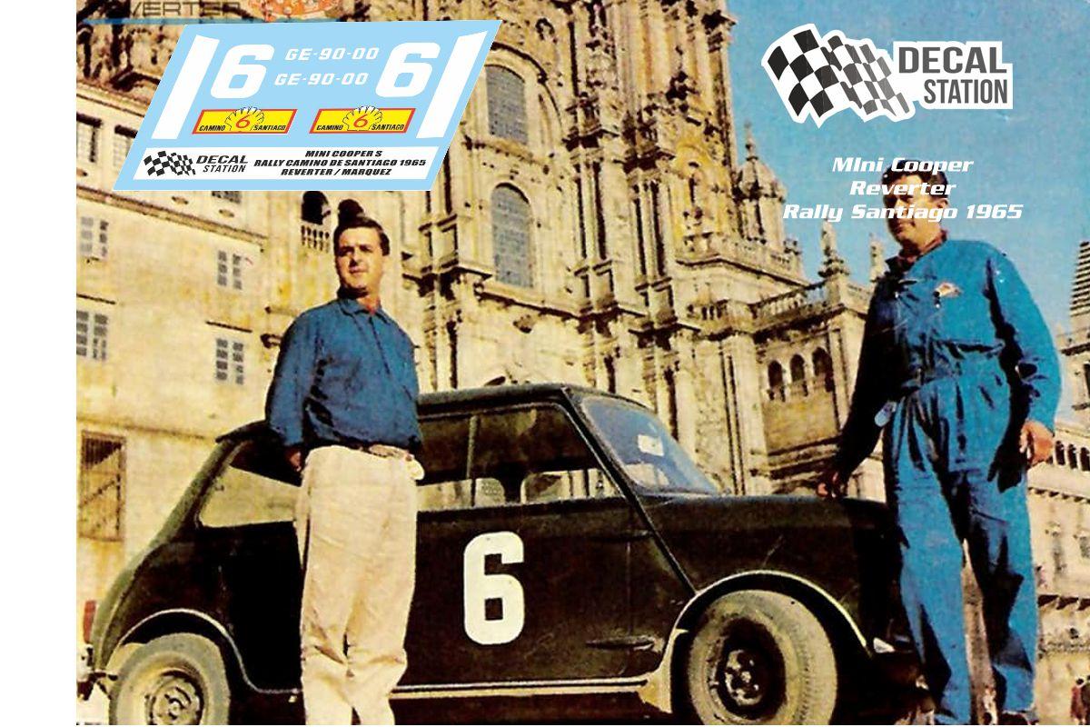 Mini Cooper Reverter Rally Santiago 1965
