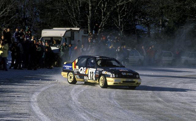 Ford Sierra Delecour Rally Montecarlo 1991