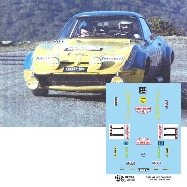 Opel GT 1900 Tour de Corse 1972