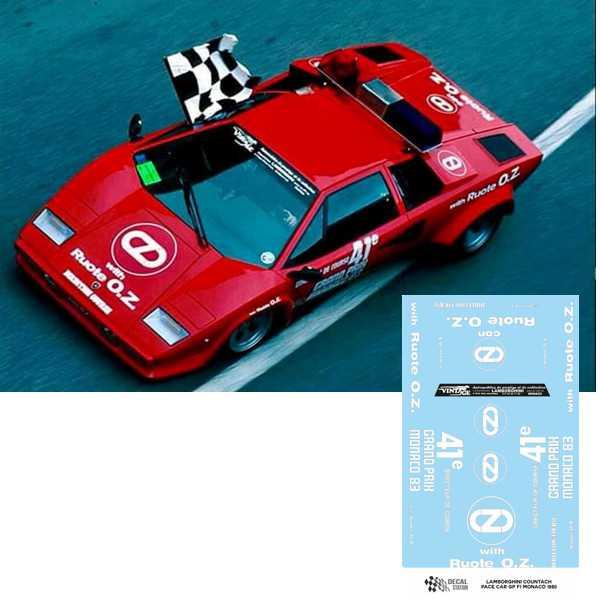 Lamborghini Countach Pace Car Monaco 1983