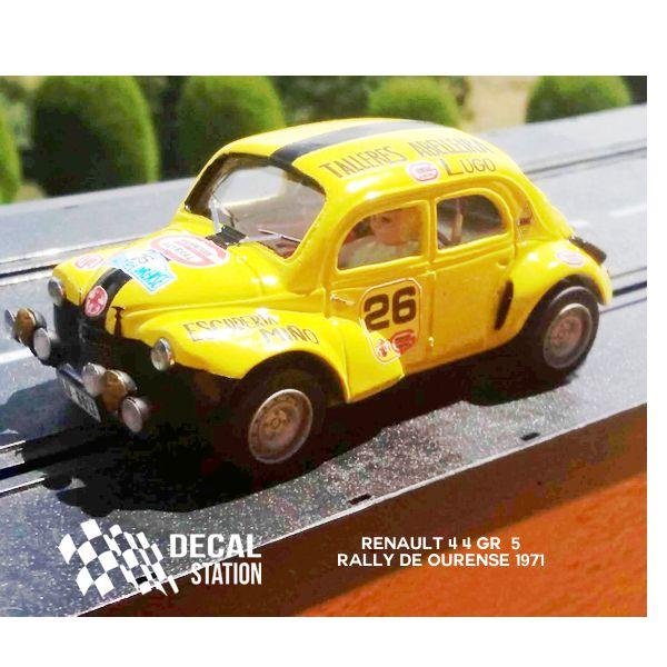Renault 4/4 Gr. 5 Rally de Ourense 1971