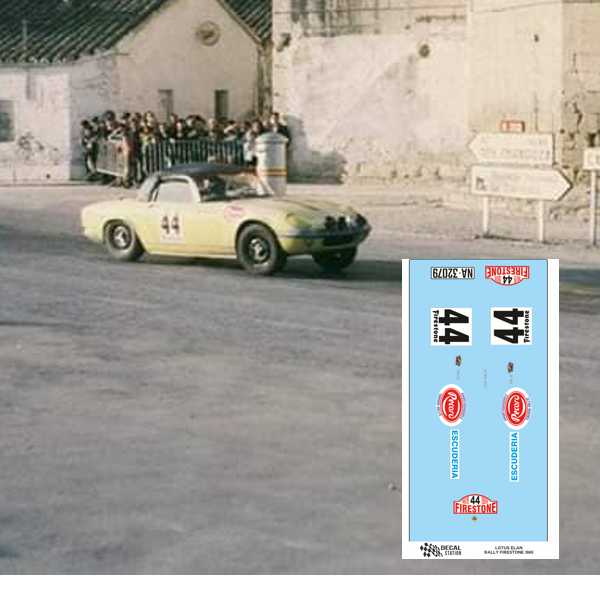 Lotus Elan S2 Rally Firestone 1969