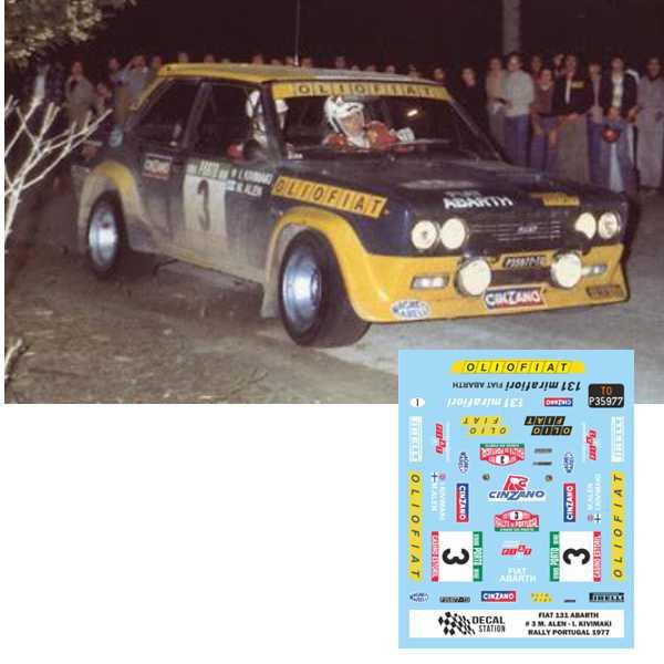 Seat 131 Rally de Portugal 1977
