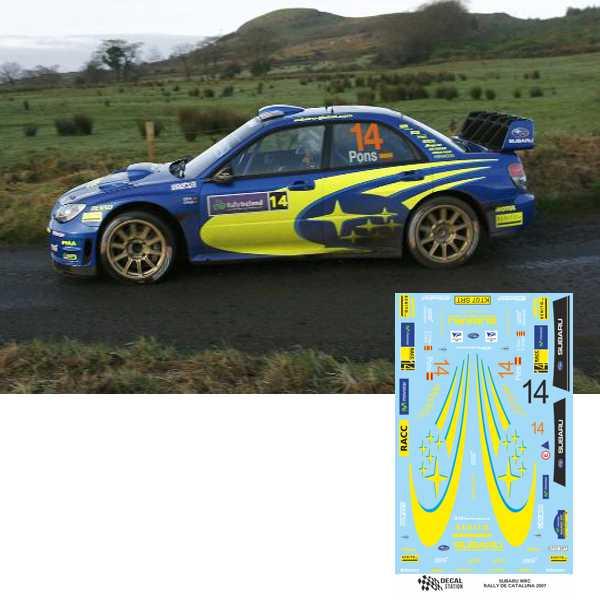 Subaru WRC Rally Cataluña 2007