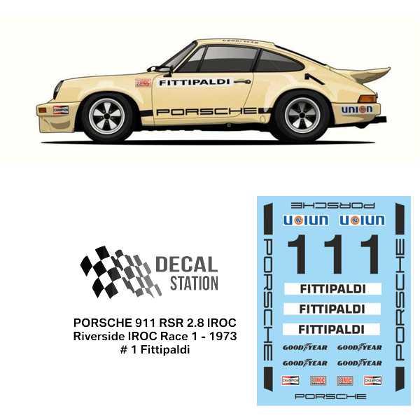 Porsche 911 RSR 2.8 IROC Riverside 1973