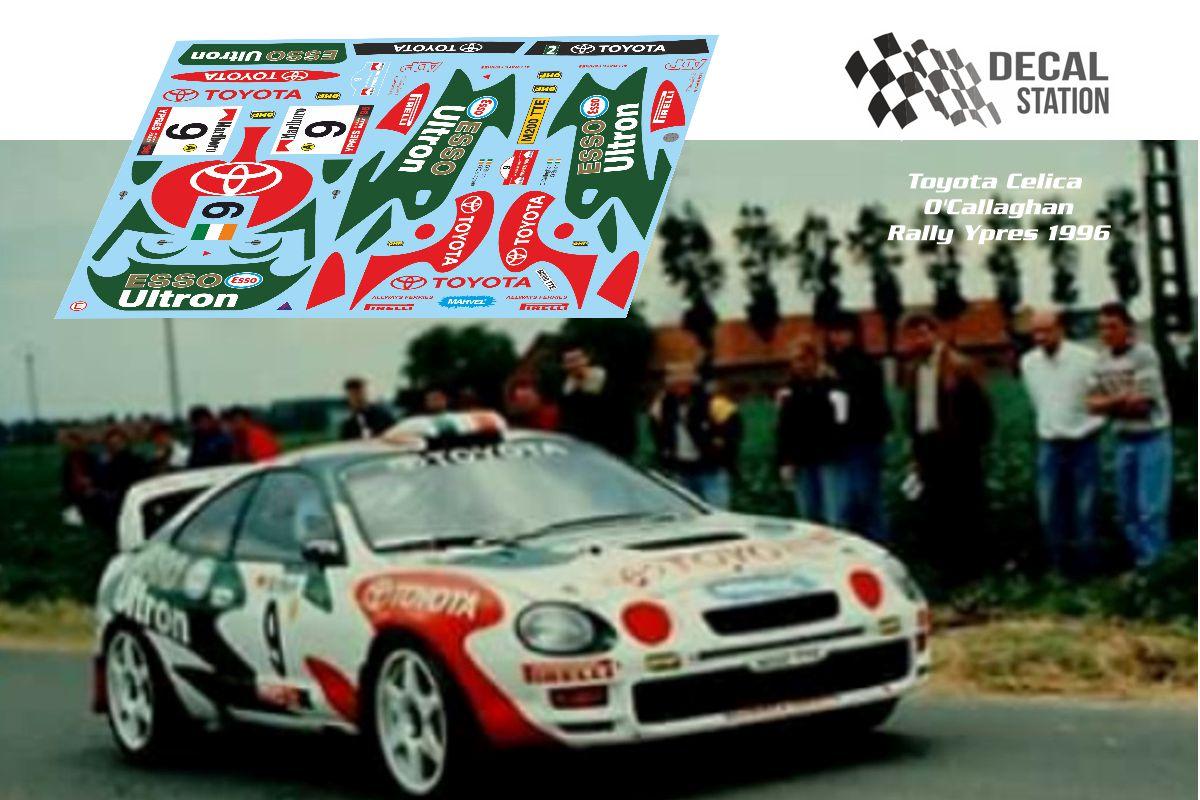Toyota Celica O'Callagham Rally Ypres 1996