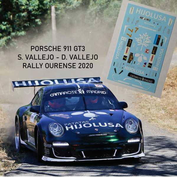 Porsche 911 Vallejo Ourense 2020