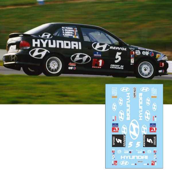 Hyundai F. Alonso 24h Barcelona 99