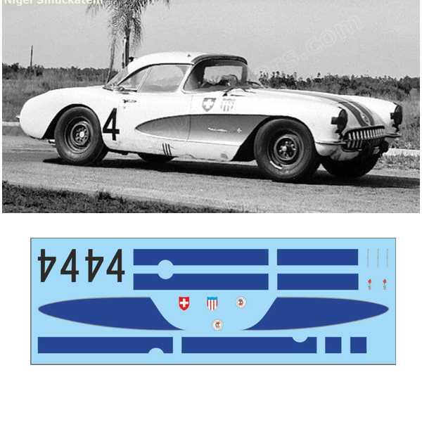 Corvette C1 12 h Sebring 1957