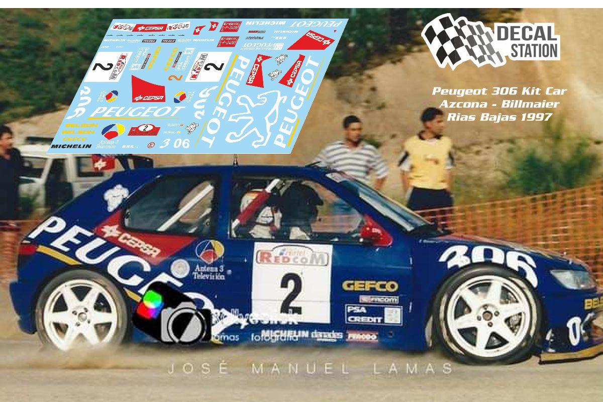 Peugeot 306 Azcona Rally Rias Bajas 1997
