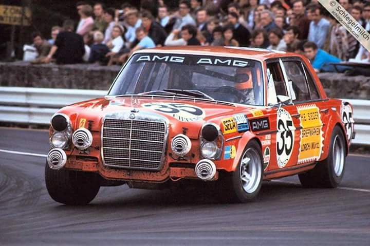 Mercedes 300 SEL AMG Spa 1971