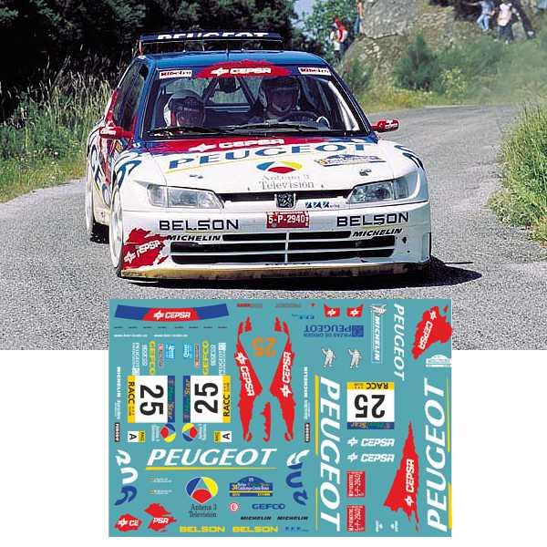 Peugeot 306 Muniente Rallye Catalunya 1998