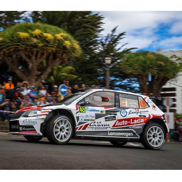 Skoda Fabia R5 Lemes Rally Canarias 2017