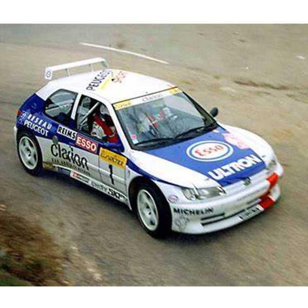 Peugeot 306 Delecour Rally Montecarlo 1996