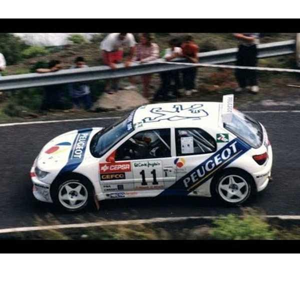 Peugeot 306 Moratal Rally Canarias 1996