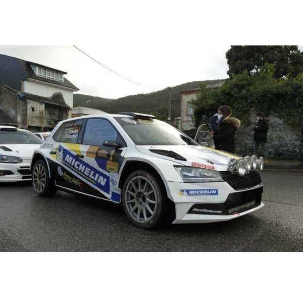 Skoda Fabia R5 Senra Rally Mariña Lucense 2020